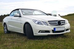 Mercedes benz cabriolet royalty free stock image