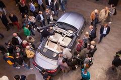 Mercedes Benz Cabriolet en el IAA 2017 imagen de archivo libre de regalías