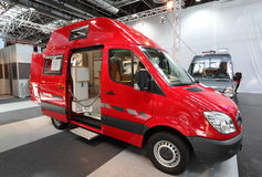 Mercedes Benz Camper Royalty Free Stock Photo