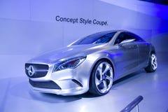 Mercedes-Benz car in Bangkok Motor Show Stock Photos