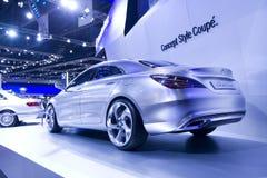 Mercedes-Benz car in Bangkok Motor Show Stock Photo