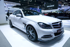 Mercedes-Benz car in Bangkok Motor Show Stock Photo