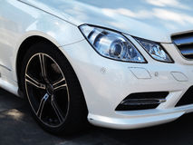 Mercedes Benz Car Head Light Royalty Free Stock Photography