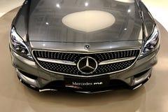 Mercedes Benz Car Head Light Stock Photo