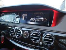 Mercedes-Benz. Car luxury auto stock photo