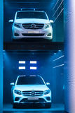 Mercedes Benz Car Park at the IAA 2015 Royalty Free Stock Image