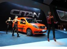 Mercedes Benz Citan Presentation Stock Photo