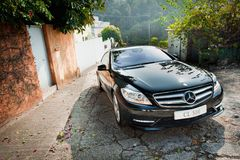 Mercedes-Benz CL 500 Royalty Free Stock Photos