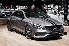 Mercedes Benz CLA 220 4MATIC car Royalty Free Stock Photos