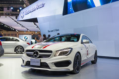 Mercedes Benz CLA 45 AMG on display Stock Photos