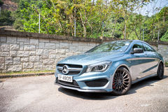 Mercedes-Benz CLA 45 AMG 4MATIC 2013 Model Royalty Free Stock Image