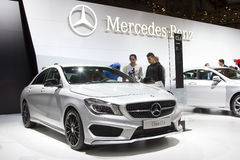 Mercedes Benz CLA Royalty Free Stock Image