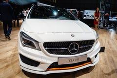 Mercedes-Benz CLA 250, Motorshow Geneve 2015 stock fotografie