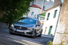 Mercedes-Benz A-Class 2012 Royalty Free Stock Images