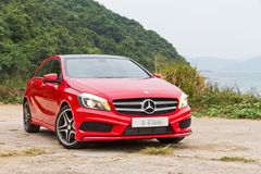 Mercedes-Benz A-Class 2012 Royalty Free Stock Image