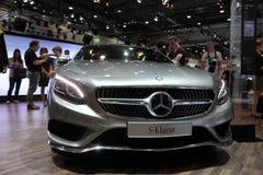 Mercedes Benz classa s agli AMI Lipsia, Germania Immagine Stock Libera da Diritti