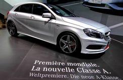 A Mercedes benz Classe A Stock Photo