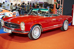 The Mercedes Benz classic car on display at The 36 th Bangkok In Stock Image