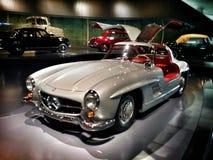 Mercedes benz. Classic mercedes benz in mercedes benz museum in  stuttgart Stock Photo