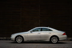 Mercedes Benz CLS. A luxury mercedes benz cls class car Royalty Free Stock Images