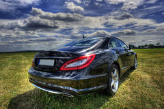 Mercedes Benz CLS royalty free stock photo