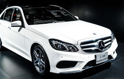 The Mercedes Benz CLS 250 CDI Coupe Stock Images