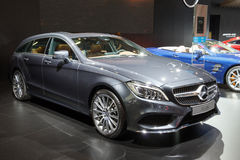 Mercedes-Benz CLS-class saloon CLS 220 d AMG Line Royalty Free Stock Photos