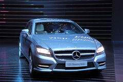 Mercedes Benz CLS die Rem schieten Stock Foto
