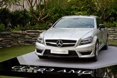 Mercedes-Benz CLS die Remmedia Gebeurtenis schieten Royalty-vrije Stock Afbeeldingen