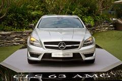 Mercedes-Benz CLS die Remmedia Gebeurtenis schieten Royalty-vrije Stock Foto's