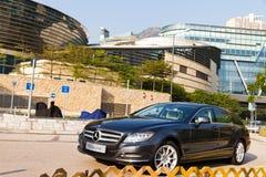 Mercedes-Benz CLS die Remmedia Gebeurtenis schieten Stock Afbeelding