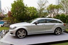 Mercedes-Benz CLS die Remmedia Gebeurtenis schieten Stock Fotografie