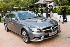 Mercedes-Benz CLS die Remmedia Gebeurtenis schieten Stock Foto