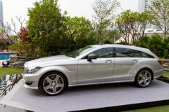 Mercedes-Benz CLS Shooting Brake Media Event Stock Photography