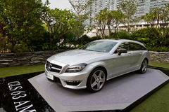 Mercedes-Benz CLS Shooting Brake Media Event Royalty Free Stock Image