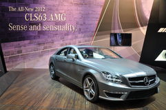 Mercedes Benz CLS63 AMG Stock Images