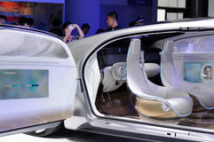Mercedes Benz Concept Car Arkivfoto