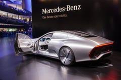Mercedes Benz Concept IAA Royaltyfri Foto