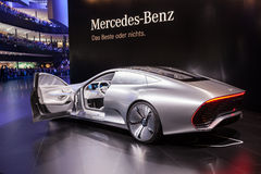 Mercedes Benz Concept IAA Royalty Free Stock Photo