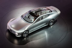 Mercedes Benz Concept IAA at the IAA 2015 Stock Photo