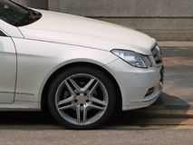 Mercedes-benz coupe e Obrazy Royalty Free