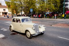 Mercedes Benz 170 DA on first of May parade in Sastamala