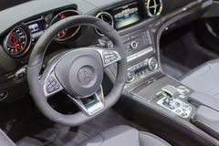 Mercedes-Benz dashboard Stock Photo