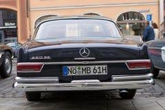 1961 Mercedes-Benz 220 de auto van SE oldtimer Royalty-vrije Stock Afbeelding