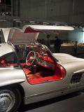 1955 Mercedes-Benz 300 de Coupé Gullwing van SL Stock Afbeelding