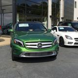 Mercedes Benz dealership Stock Photography