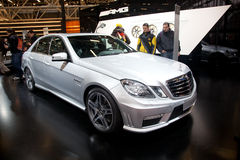 Mercedes Benz E 63 AMG Stock Image