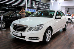 Mercedes-Benz E-class Royalty Free Stock Photography