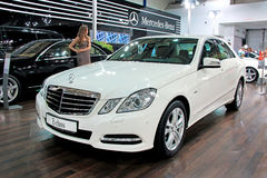 Mercedes-Benz E-class Stock Photo