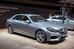 Mercedes-Benz E-Class Stock Images